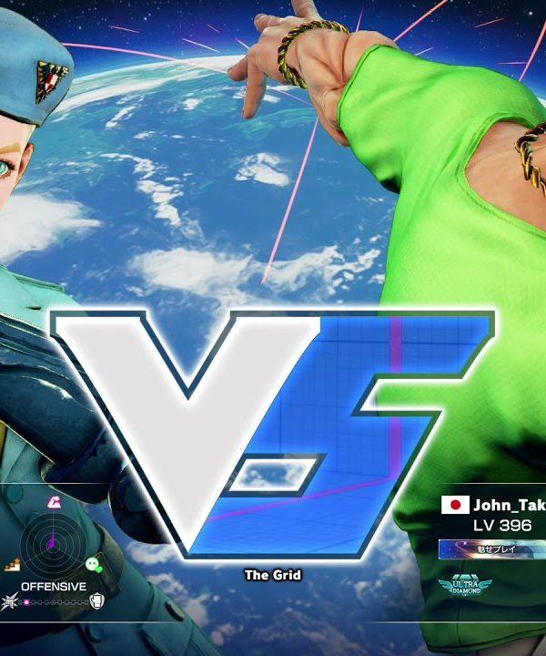 【スト5】Pすけ(キャミィ)vs 竹内ジョン(ラシード)