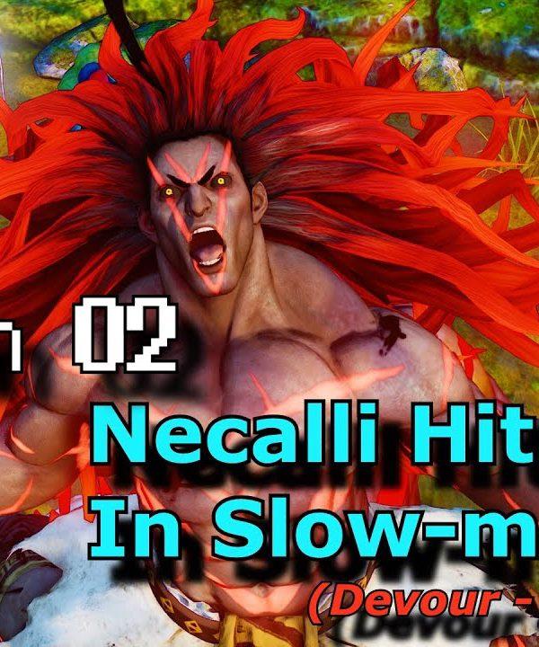 【スト5】S.02 S.F.V. Slow Motion Hit Boxes – Necalli