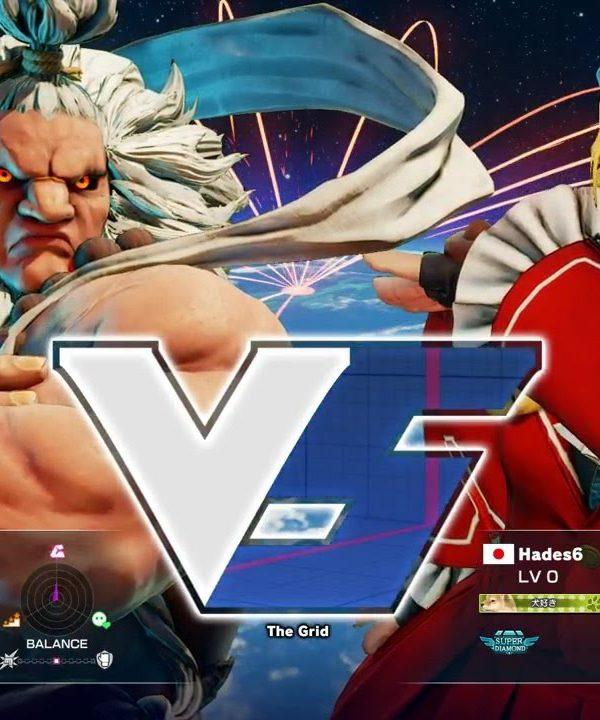 【スト5】sako(豪鬼)vs Hades6(かりん)