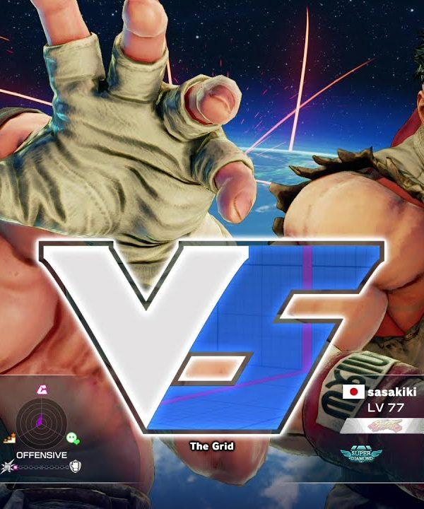 【スト5】Seveku(アレックス)vs ささき(リュウ)