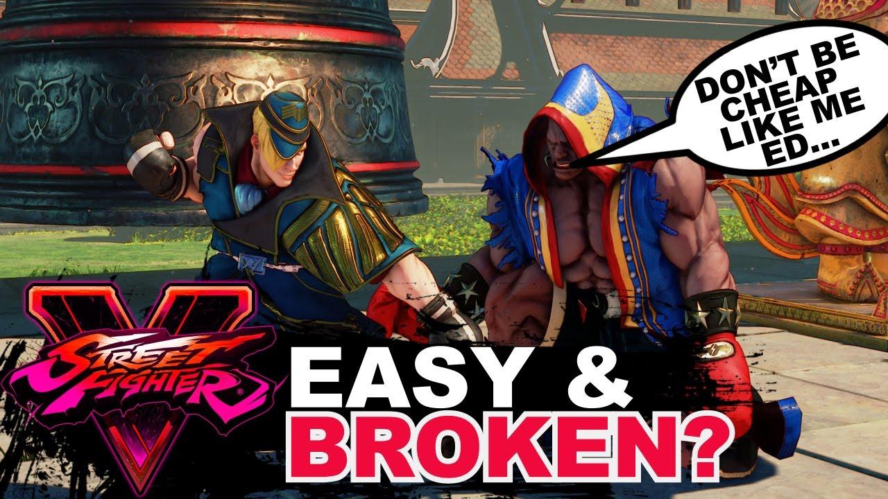 【スト5】SF5 * Easy And Broken? Ed's Move list Discussion