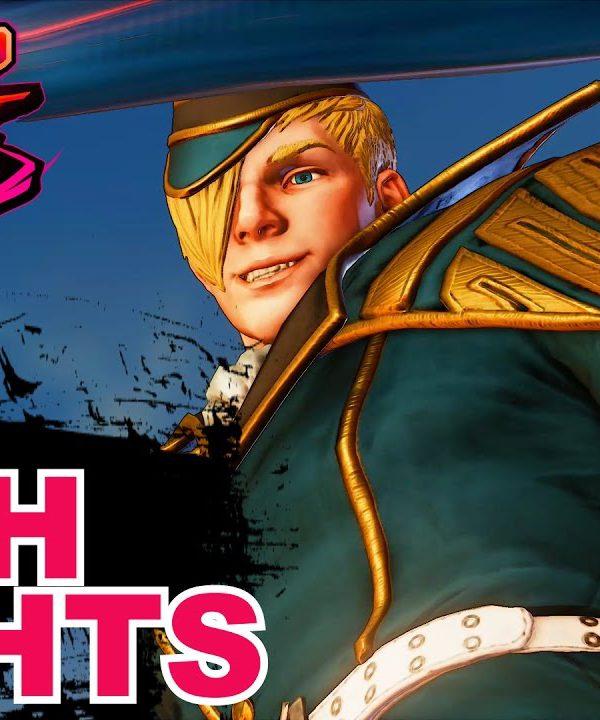 【スト5】SF5 * Ed Combos & Highlights Compilation