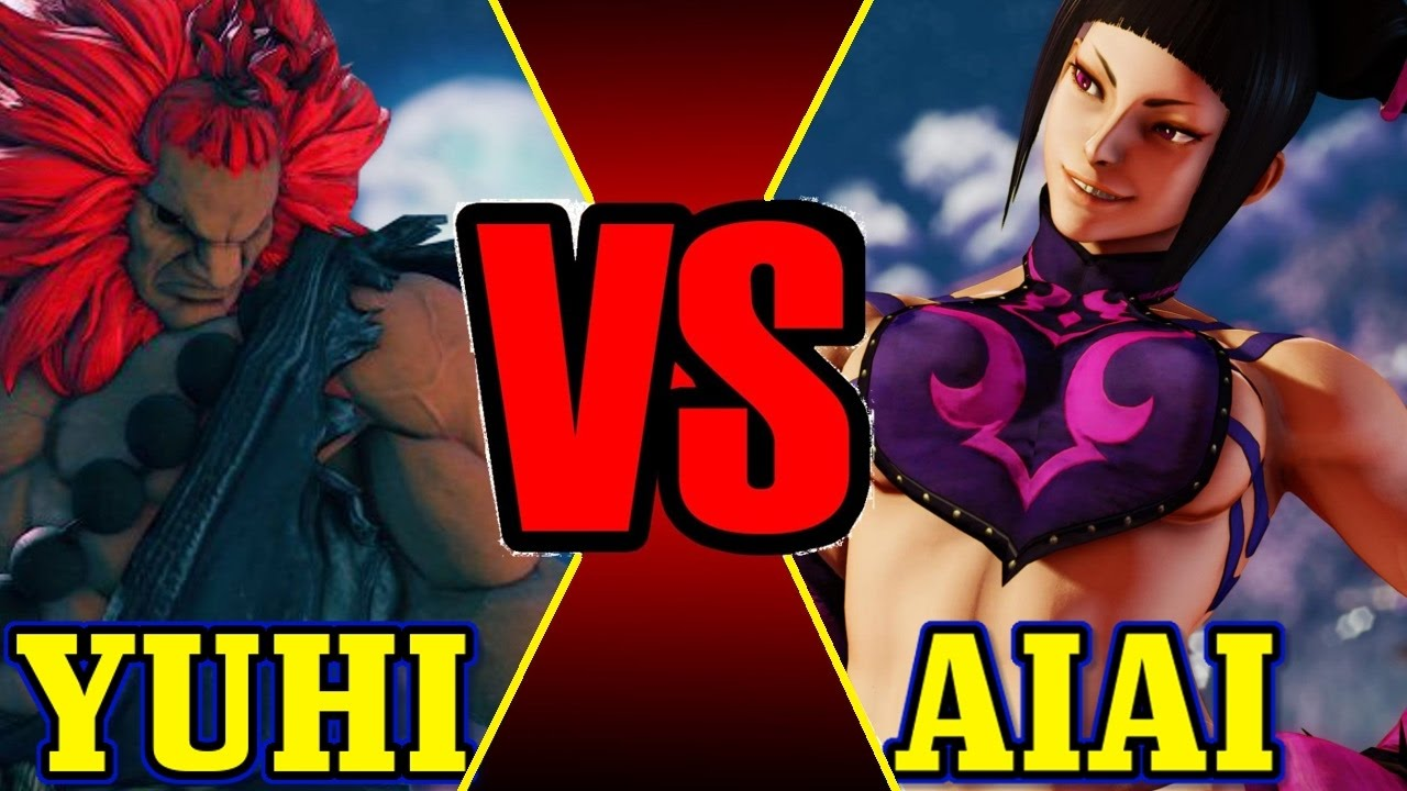 【スト5】SF5 S2 ➤ Aiai Juri VS. Yuhi Akuma【FT9 Hype Set】