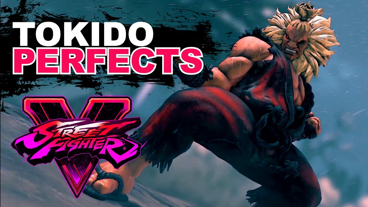 【スト5】SF5 * Tokido (Akuma) PERFECTS Compilation