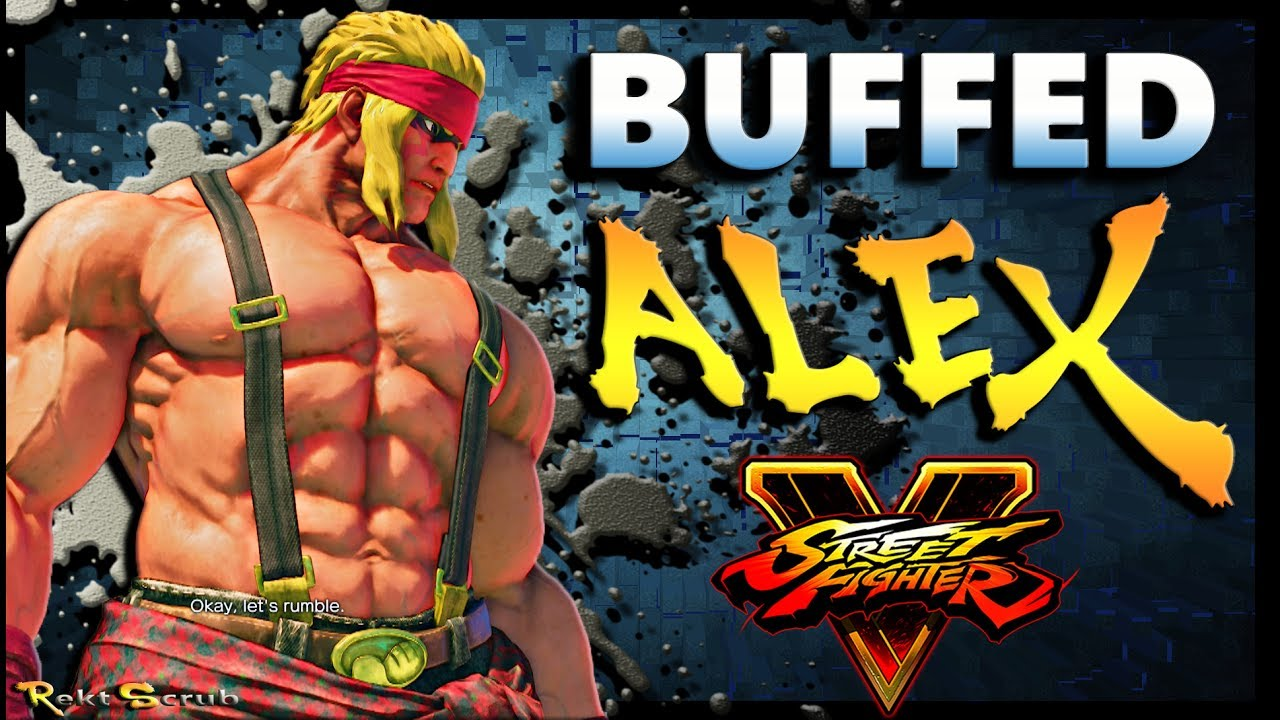 【スト5】SFV – A Buffed Alex | FT. Gunfight & The Cool Kid93 – Season 2.5 – SF5