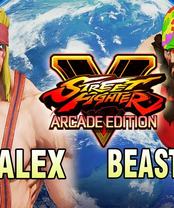 【スト5】SFV AE – GunFight (Alex) Vs Kichipa-MU (Zangief) – Online Matches