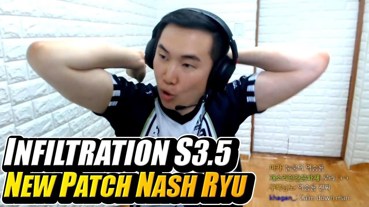 【スト5】SFV AE ➡ INFILTRATION ➡ Plays Ryu Nash 💥 Season 3.5 Changes and Thoughts