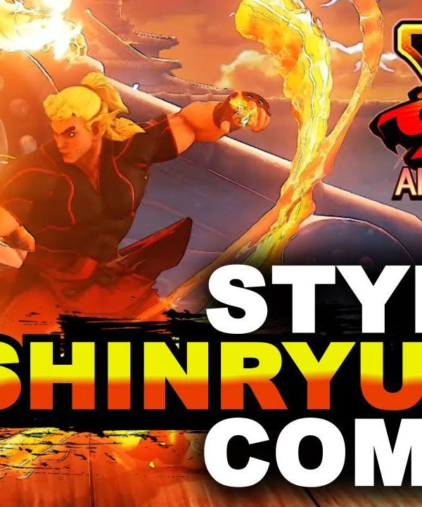 【スト5】SFV AE * Ken Stylish V-Trigger 2 Combos (Ft. Momochi & Kintyo)