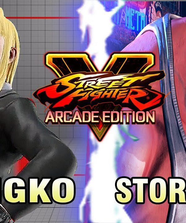 【スト5】SFV AE – Poongko (Kolin) Vs StormKubo (Abigail) – Online