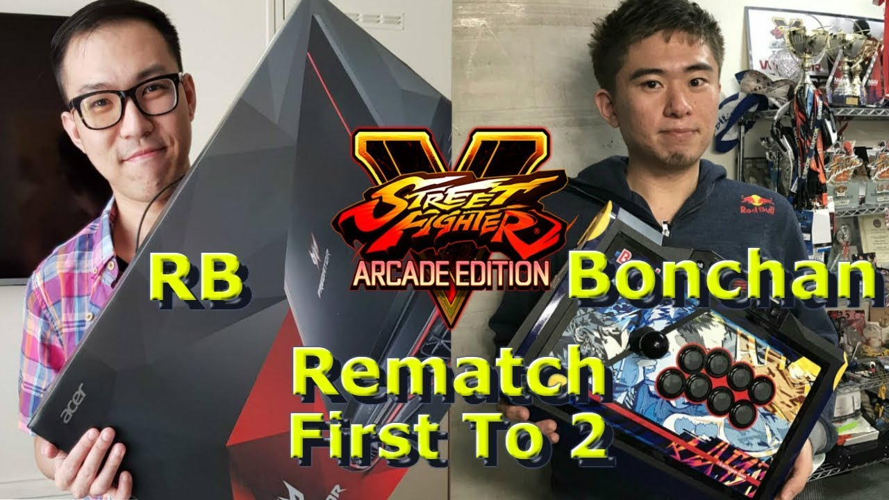 【スト5】SFV AE – RB VS Bonchan | First To 2