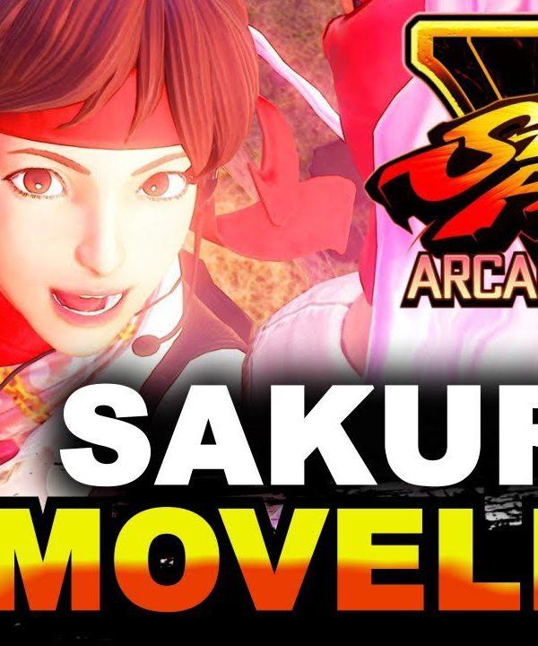 【スト5】SFV AE * Sakura Movelist / Complete Breakdown
