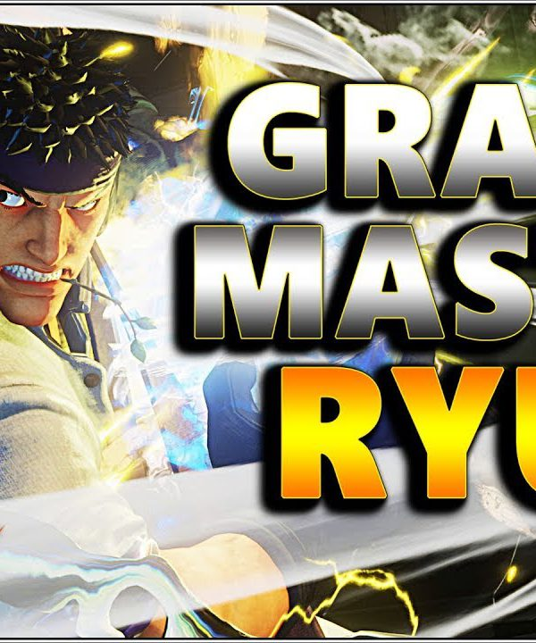 【スト5】SFV AE – The Top 2 Grand Master Ryu Beasts – Justfog & AmKidd – SF5