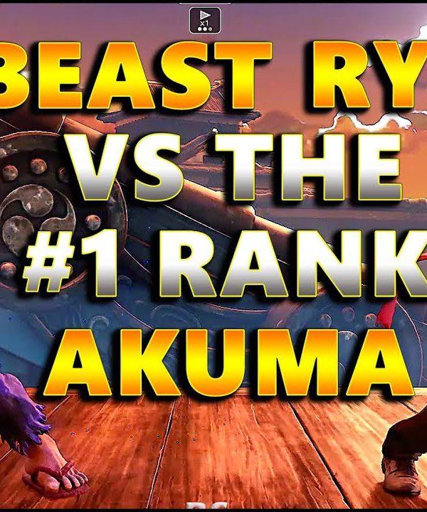 【スト5】SFV – Beastly Ryu ( NL ) Vs The HIGHEST Ranked Akuma ( SandBag ) | Best of 3 – SF5