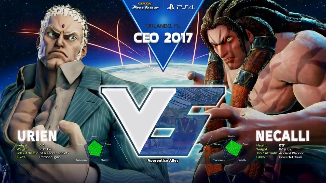 【スト5】SFV: CEO 2017 – Day 1 Pools Part 1 – CPT2017