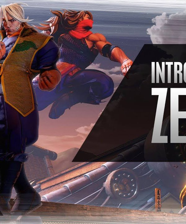 【スト5】SFV: Character Introduction Series – Zeku