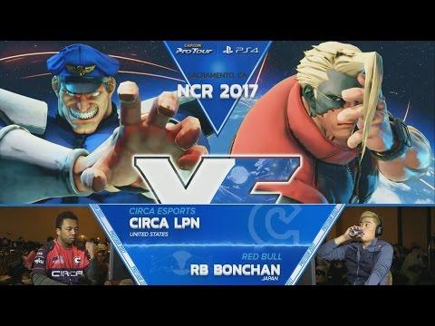 【スト5】SFV: Circa LPN vs RB Bonchan – NCR 2017 Top 8 – CPT 2017