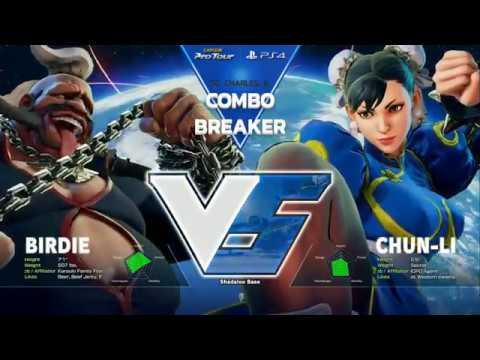 【スト5】SFV: Combo Breaker 2017 – Top 16 Part 2 – CPT 2017