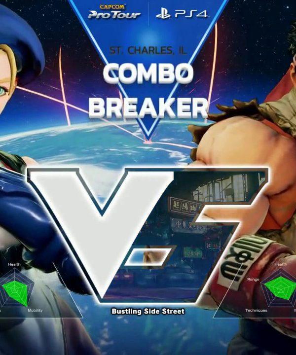 【スト5】SFV: Combo Breaker 2017 – Top 32 – CPT 2017