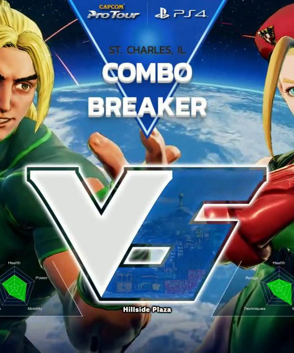 【スト5】SFV: Combo Breaker 2017 – Top 96 Part 1 – CPT 2017
