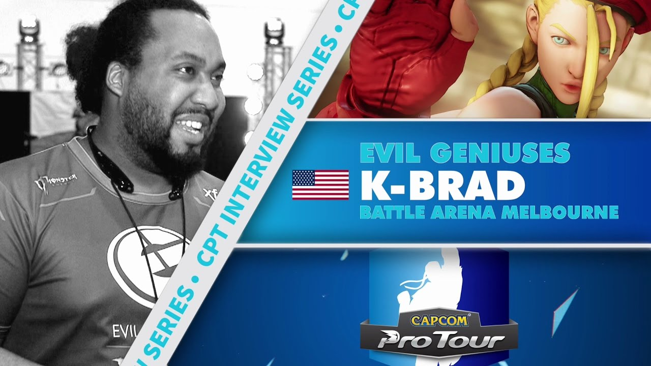 【スト5】SFV: CPT Interview Series – K-Brad (Battle Arena Melbourne 9)