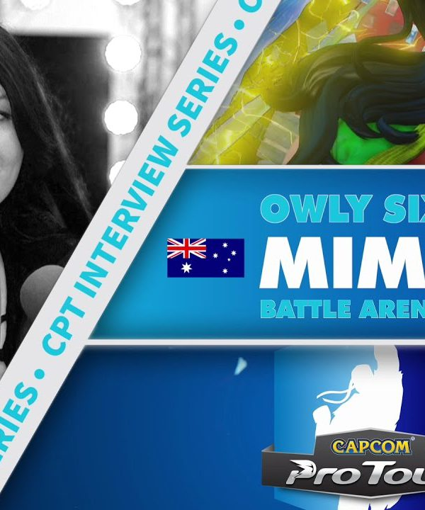 【スト5】SFV: CPT Interview Series – Mim (Battle Arena Melbourne 9)