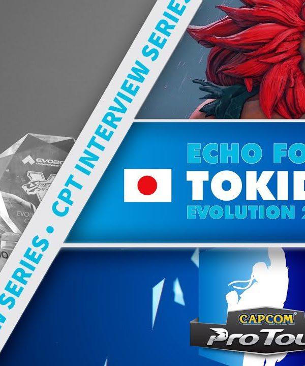 【スト5】SFV: CPT Interview Series – Tokido (EVO 2017 Winner)