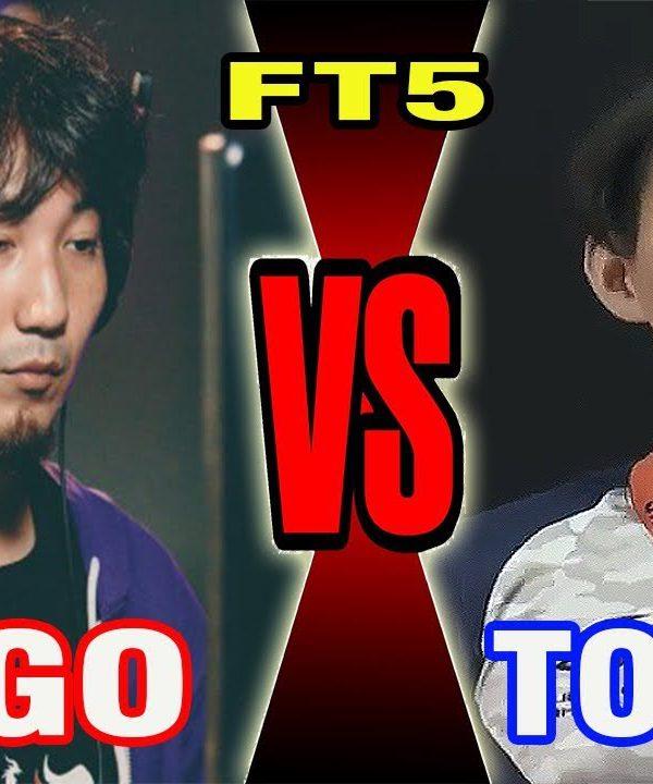 【スト5】SFV – Daigo Umehara (Guile) Vs Tokido (Akuma) – FT 5