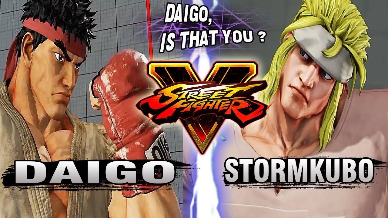 【スト5】SFV – Daigo Umehara (Ryu) Vs StormKubo (Alex) – Ranked Matches