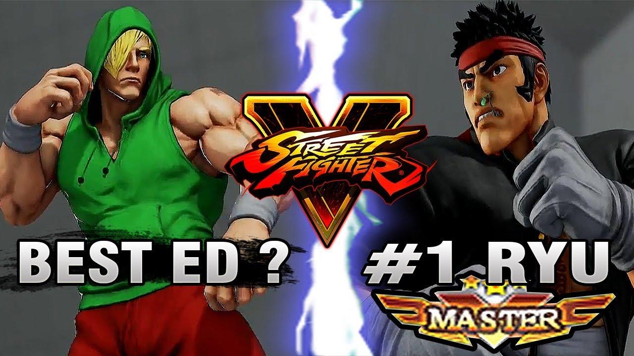 【スト5】SFV – DiabloDOC (ED) Vs JustfogQ16 (Ryu) – Ranked Matches