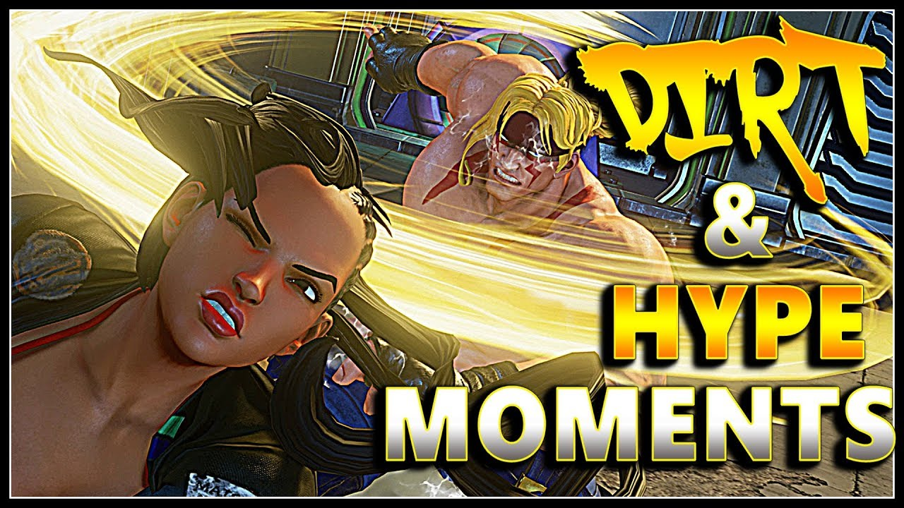 【スト5】SFV – Dirt & Awesome Moments | FT Alex Juri Akuma & More| Compilation – SF5