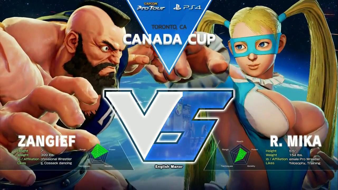 【スト5】SFV: DNG   Itabashi Zangief vs GRPT   Fuudo – Canada Cup 2017 – CPT 2017