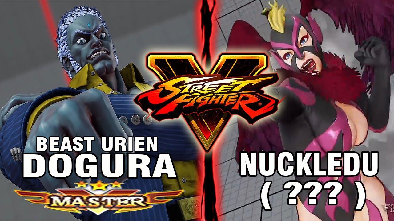 【スト5】SFV – Dogura (Urien) Vs NuckleDu (R.Mika) – Ranked Matches