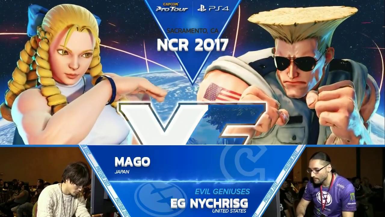 【スト5】SFV: EG Chris G vs Mago – NCR 2017 Top 8 – CPT 2017