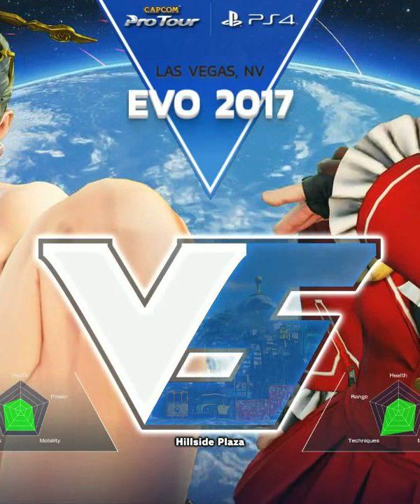 【スト5】SFV: EVO 2017 – Day 2 – Top 512 Part 1 – CPT2017