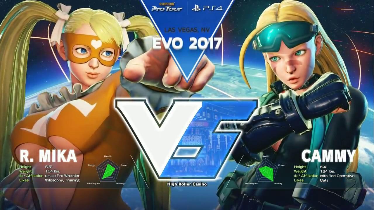 【スト5】SFV: EVO 2017 – Day 2 – Top 64 Part 1 – CPT2017
