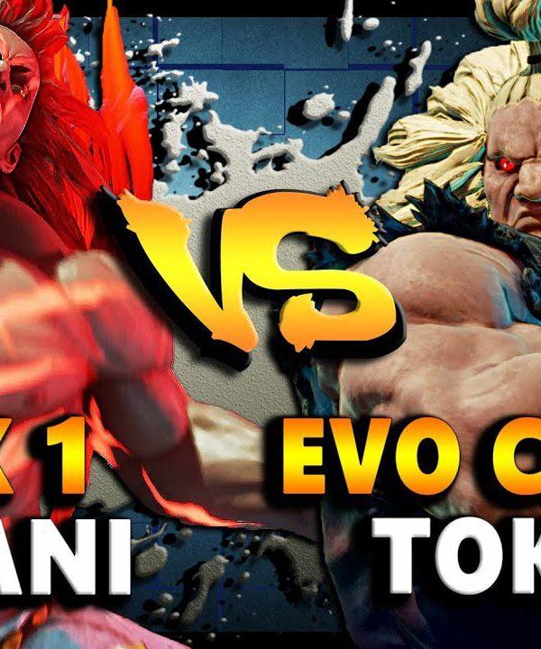 【スト5】SFV – Evo Champ Tokido ( Akuma ) Vs Rank 1 Haitani ( Necalli )| Epic Ranked Showdown – SF5