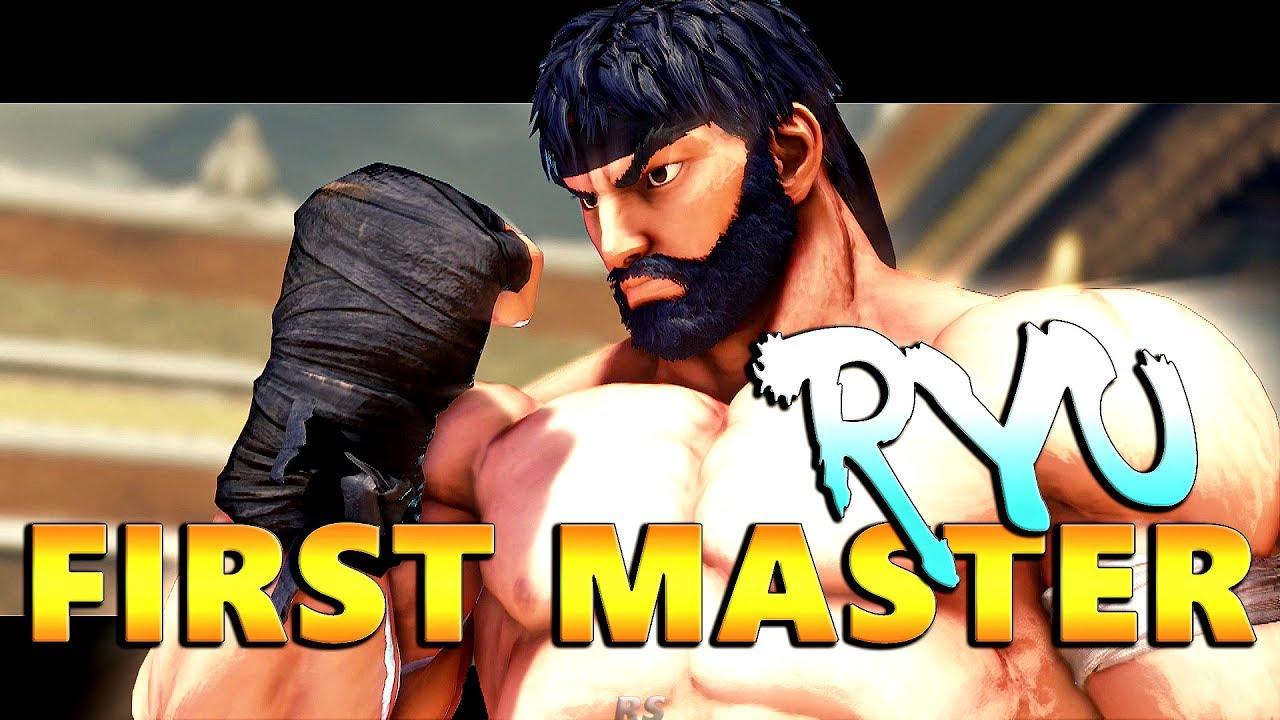 【スト5】SFV – First Master Rank RYU ( Sasaki ) | Ranked Compilation As Master – SF5