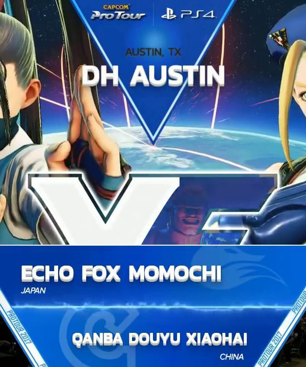 【スト5】SFV: FOX Momochi vs Qanba Douyu Xiaohai – Dreamhack Austin 2017 Pools – CPT 2017