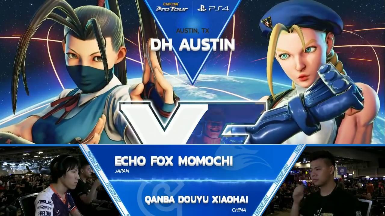 【スト5】SFV: FOX Momochi vs Qanba Douyu Xiaohai – Dreamhack Austin 2017 Pools – CPT 2017