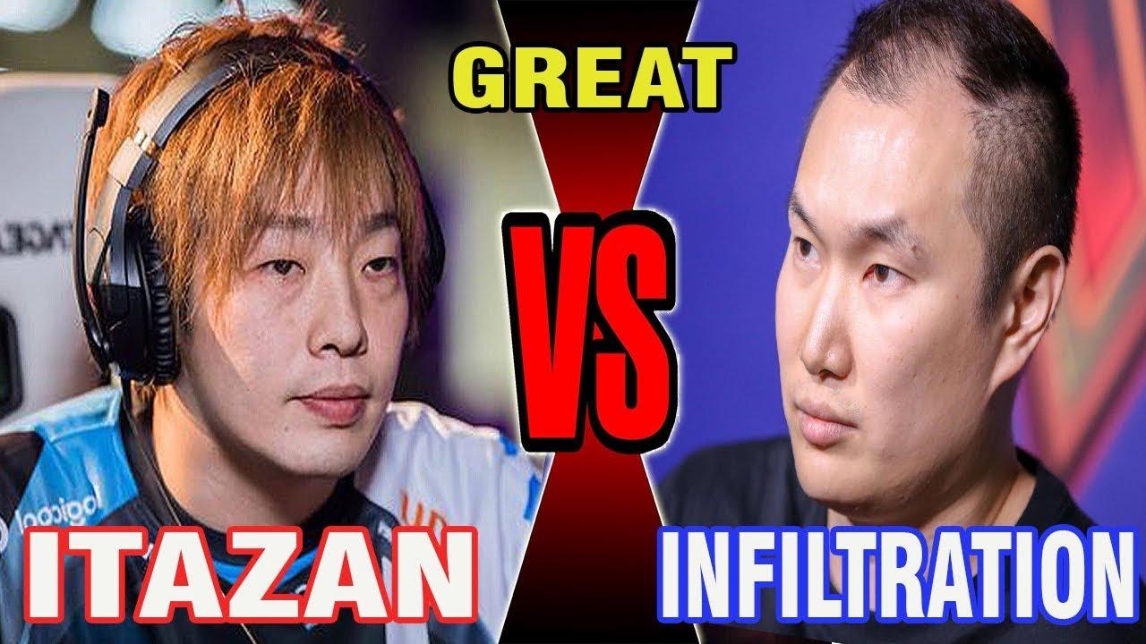 【スト5】SFV – Grand Finals – Itazan (Zangief) Vs Infiltration (Menat) – WNF 4.6