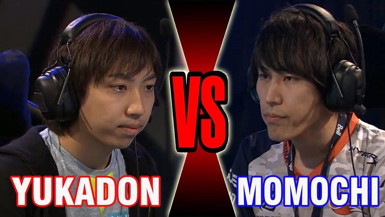 【スト5】SFV – Grand Finals – Momochi (Ken) Vs Yukadon (Ibuki) – Knock Out