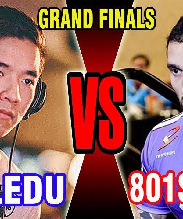 【スト5】SFV – Grand Finals – Nuckledu (Guile) Vs 801 Strider (Laura) – DreamHack 2017