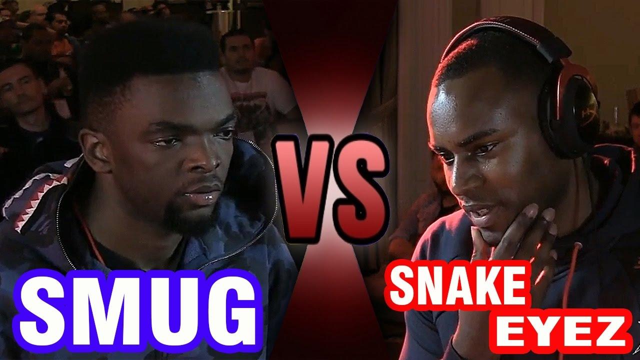 【スト5】SFv – Grand Finals – PIE Smug (Balrog) Vs Snake Eyez (Zangief) – Texas Showdown   Tournament