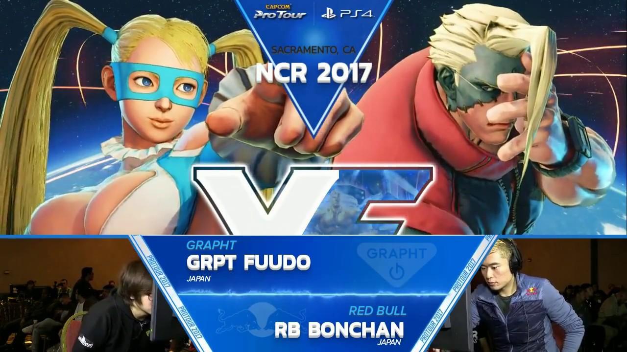 【スト5】SFV: GRPT Fuudo vs RB Bonchan – NCR 2017 Top 8 – CPT 2017