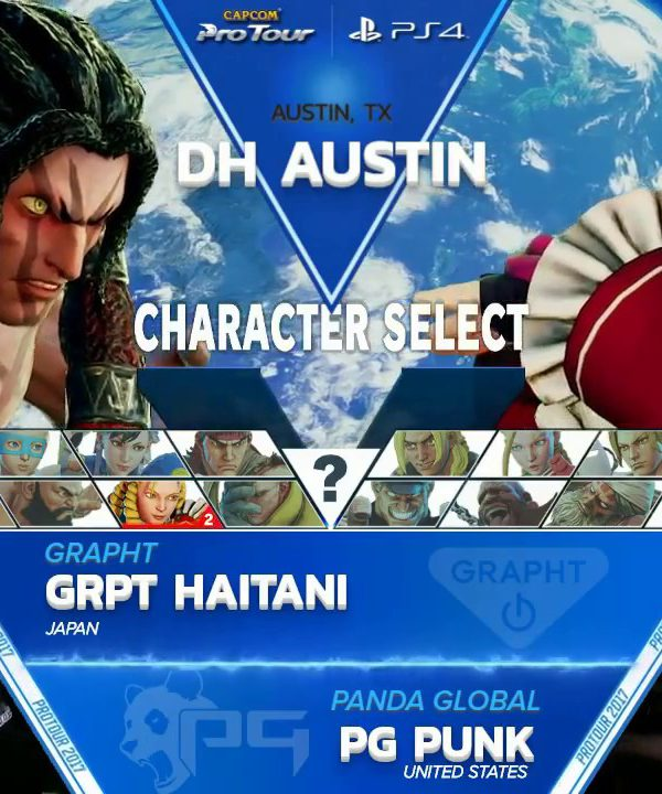 【スト5】SFV: GRPT Haitani vs PG Punk – Dreamhack Austin 2017 Grand Finals – CPT2017