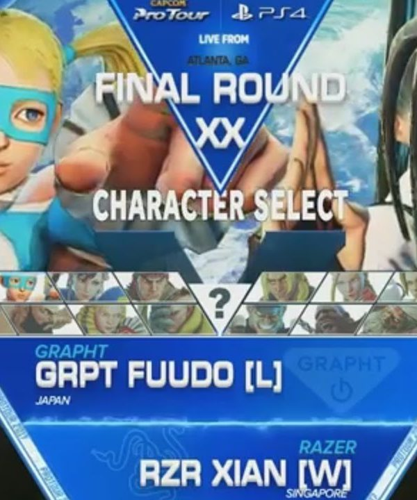 【スト5】SFV: GRPT|Fuudo vs RZR|Xian – Final Round XX Grand Finals – CPT2017
