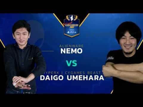 【スト5】SFV: HX | CYG BST | Daigo vs. AW | Nemo – Capcom Cup 2017 – CPT 2017