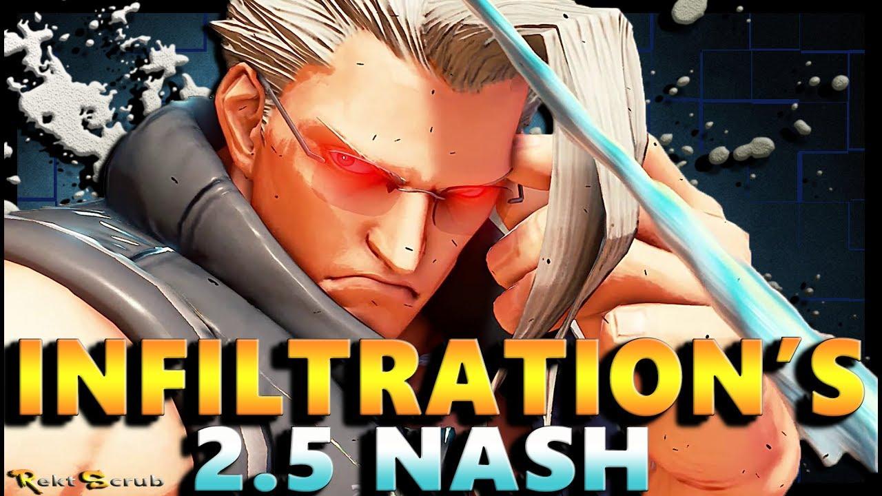 【スト5】SFV – Infiltration ( Nash ) Vs Donpachi & Other Diamonds | Season 2.5 – SF5