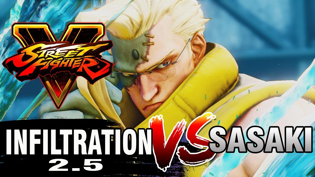 【スト5】SFV – Infiltration (Nash) Vs Sasaki (Ryu) – Ranked Matches