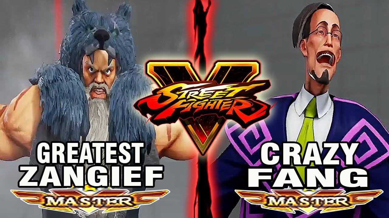 【スト5】SFV – Itazan (Zangief) Vs Dusk Aims (Fang) – Ranked Matches